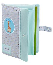Sophie la Girafe Baby Health Book - Blue