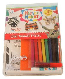 Mister Maker Wild Animal Masks - Multicolor