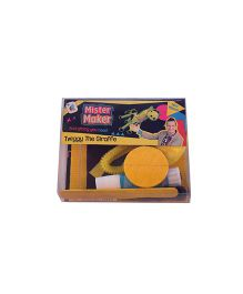 Mister Maker Twiggy The Giraffe Kit - Yellow