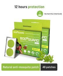 Bodyguard Premium Natural Anti Mosquito Patches Pack Of 2 - 48 Patches