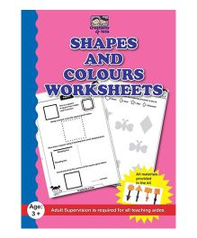 Creativity 4 Tots Shapes and Colours Worksheets - English