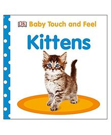 Baby Touch And Feel Kittens Reading Book - English