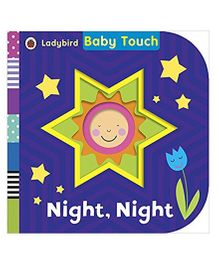 Baby Touch Night Night Reading Book - English