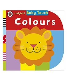 Baby Touch Colours Reading Book - English