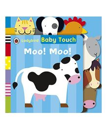 Baby Touch Moo Moo Tab Book - English
