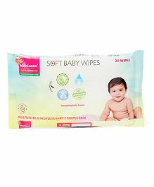Morisons Baby Dreams Wet Wipes - 20 Pieces