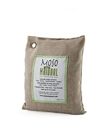 Moso Natural Air Purifying Bag Natural Color - Covers upto 250 Sq Ft