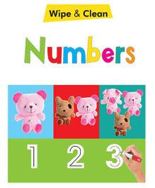 Numbers Wipe & Clean Book - English