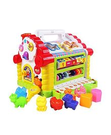 Webby Multi Function Learning House - Multicolour