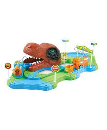 Webby Battery Operated Dinosaur Track Train Set (Color May Vary)