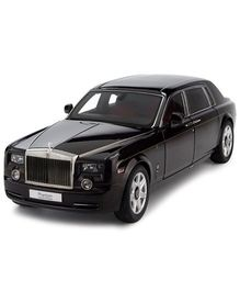 Webby Rolls Royce Phantom Pull Back Sedan Car - Black