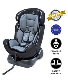 R for Rabbit Jack N Jill Grand Convertible Baby Car Seat - Black Grey