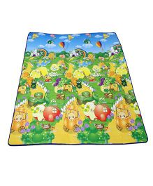 Paramount Waterproof Double Sided Play Mat Fruit Print - Multicolour