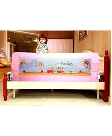 Kiddale Baby Safety Bed Guard Pink - Length 180 cm