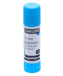 Chrome Glue Stick Pack of 24 Blue - 15 gm