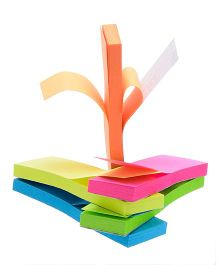 Chrome Sticky Notes Pack of 4 Pads Multicolour - 40 Notes Each