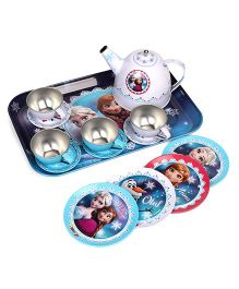 Smoby Disney Frozen Tea Set Blue White - 14 Pieces