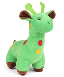 Pay Toons Giraffe Soft Toy Green - 18 cm