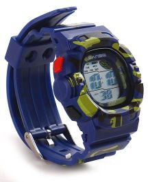 Digital Wrist Watch - Navy Blue