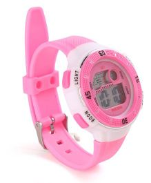 Digital Wrist Watch - Pink