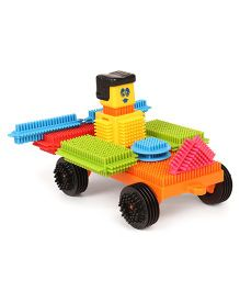 Funskool Clipo Senior Building Blocks Multicolor - 64 Pieces
