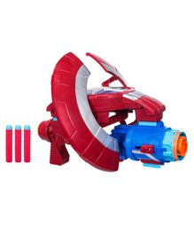 Avengers Nerf Captain America Assembly Gear - Red