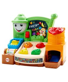 Fisher Price Fruits & Fun Learning Market - Multicolour