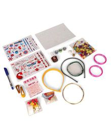 Lil Star DIY Miss Universe Combo 6 In 1 Kit - Multi Colour