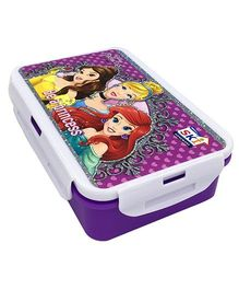 Funcart Lunch Box Disney Princess Print - White