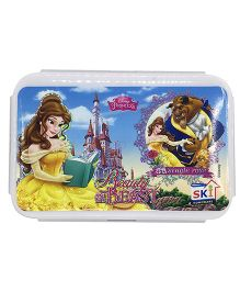 Funcart Lunch Box Beauty & The Beast Print - White Purple