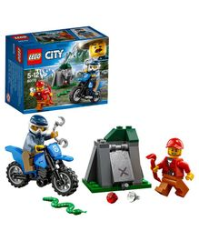 Lego City Off-Road Chase Multicolor - 37 Pieces