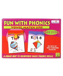 Creative Fun With Phonics Vowel Match Ups - 50 Pieces