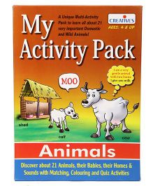 Creative My Activity Pack Animals Theme - Multicolour