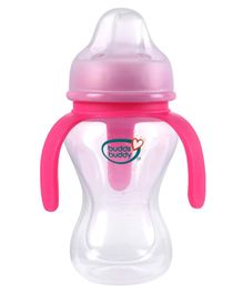 Buddsbuddy Spout Bottle With 3 Handle Pink - 270 ml