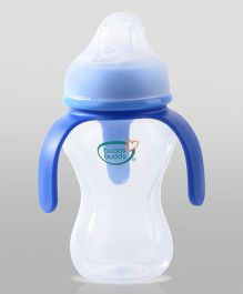 Buddsbuddy Spout Bottle With 3 Handle Blue - 270 ml