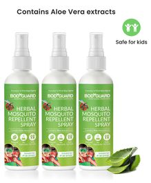 Bodyguard Herbal Mosquito Repellent Spray Set of 3 - 100 ml