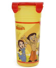 Chhota Bheem Tumbler With Lid Red & Yellow - 500 ml