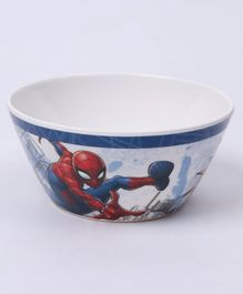 Marvel Cone Bowl Spider Man Print - Off White Red