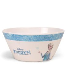 Marvel Cone Bowl Frozen Print - Off White Blue