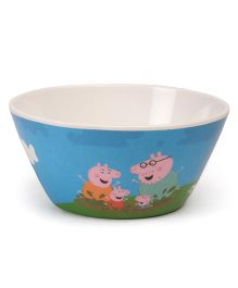 Peppa Pig Cone Bowl - White Blue