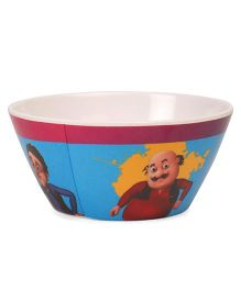 Motu Patlu Cone Bowl - Off White Blue