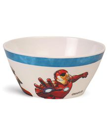 Marvel Cone Bowl Off White Red - 280 ml