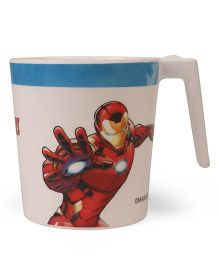 Avengers Large Coffee Mug - Off White Red