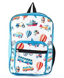 The Yellow Jersey Company School Bag Light Blue - Height 14 inches