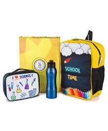 The Yellow Jersey Company School Kit of 3 Scientist Theme - Yellow