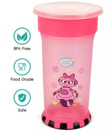 Buddsbuddy Premium All Round Cup With Strong Base Pink - 360 ml