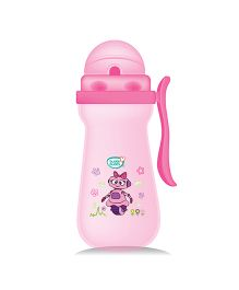 Buddsbuddy Premium Baby Sipper With Single Handle Pink - 410 ml