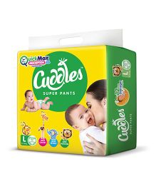 Cuddles Pant Style Diapers Large - 62 Pieces