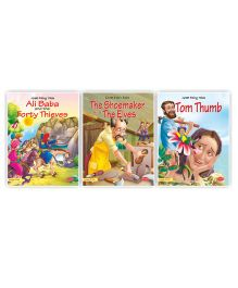 Fairy Tale Bed Time Story Book Set of 3 - English