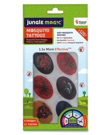 Jungle Magic Mosquito Patches - Pack of 12
